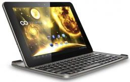 Tablet Goclever Orion QuadCore 10.1 IPS 2GB RAM con teclado bluetooth