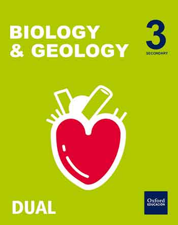 Inicia Biology 3.º ESO. Student's book. Amber