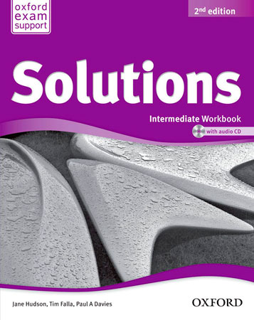 Solutions 2nd edition Intermediate. Workbook CD Pack