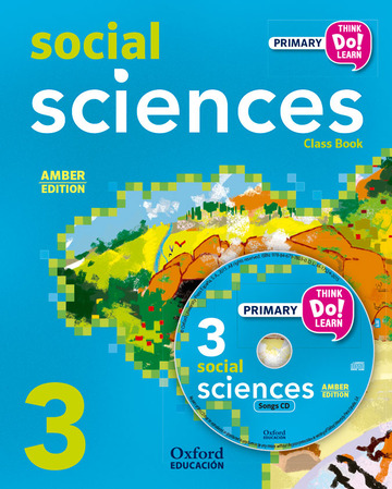 Think Do Learn Social Sciences 3rd Primary. Class book + CD pack Amber
