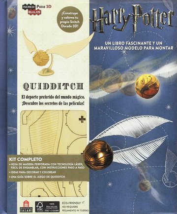Incredibuilds harry potter quidditch