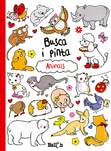 Busca i pinta- animals