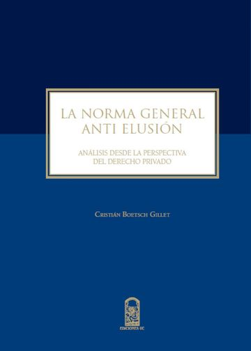 La norma general anti elusión